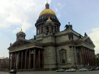 St Isaac Cathedral, St Petersburg, Russi