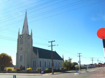 St Joseph's Church in Temuka with t