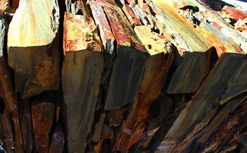 Stack of Shale Slabs