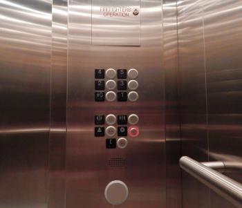 Stainless Steel Elevator Interior
