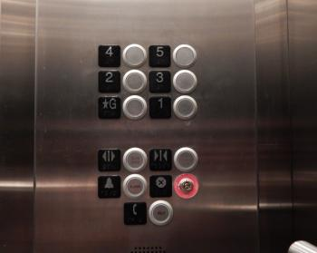 Stainless Steel Elevator Panel
