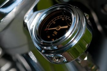Stainless Steel Vehicle Fuel Gauge