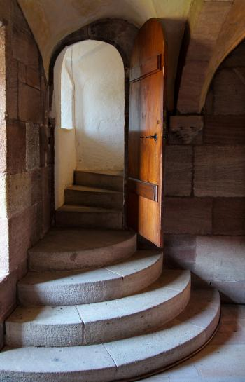 Stairs in the Tower