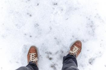 Standing on Frosted Ground