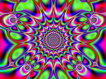 Rotary Fractal Pattern