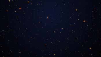 Stars on sky