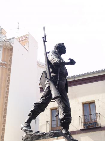 Statue of a soldier
