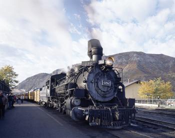 Steam Locomotive Engine