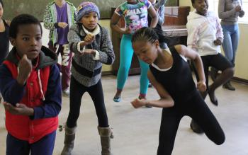 Step Afrika! / iKapa dance camp
