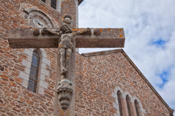Stone Crucifix - HDR
