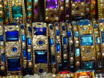 Stone ornament bracelets