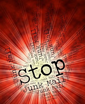 Stop Junk Mail Shows Restriction Email And Spam