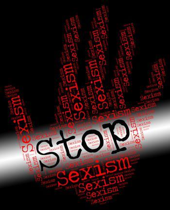 Stop Sexism Represents Gender Prejudice And Control