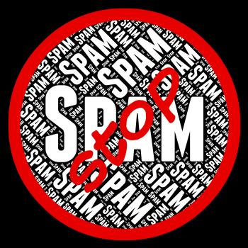 Stop Spam Means E Mail And Caution