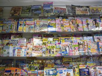 Store shop Magazine Display
