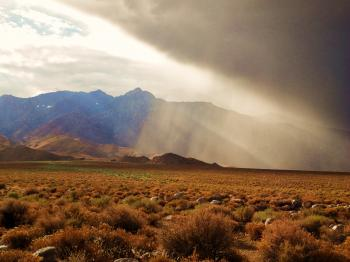 Stormy Owens Valley
