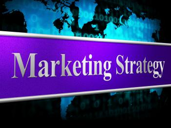 Strategy Marketing Represents Solutions Promotions And Vision