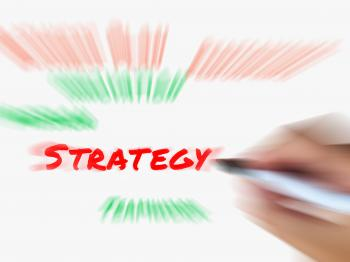 Strategy on Whiteboard Displays Planning Goals Objectives and Strategi