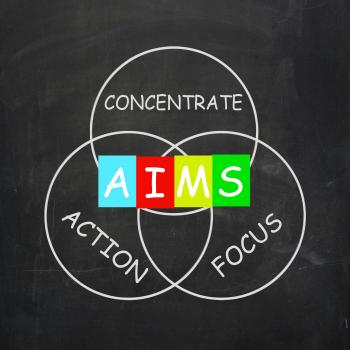 Strategy Words Include Aims Focus Concentrate and Action