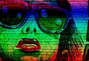 Street Art - Graffiti - Variation Four