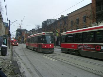 Streetcars near Jarvis and King, 2015 02 01 (3)