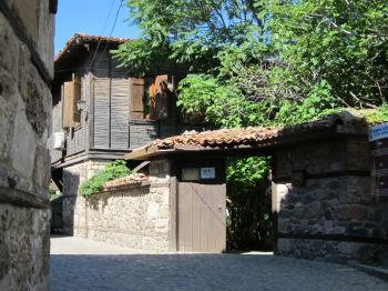 Streets of Sozopol, Bulgaria