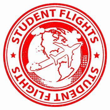 Student Flights Indicates Plane Aeroplane And Aircraft