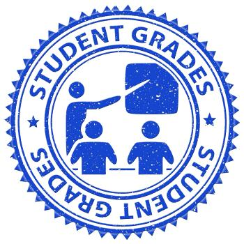 Student Grades Indicates Result School And Educate