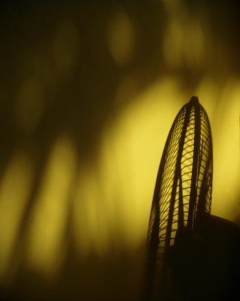 Summer Heat Fan Silhouette