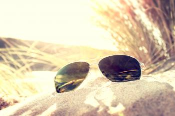 Sunglasses on the Sand Dunes