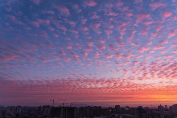 Sunrise Building Photography