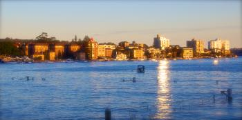 Sunset in Manly