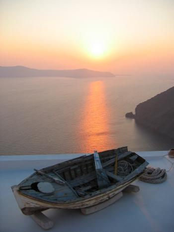Sunset Santorini Greece