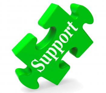 Support Shows Help Advice And Assistance