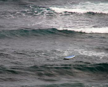 Surfboard Floating