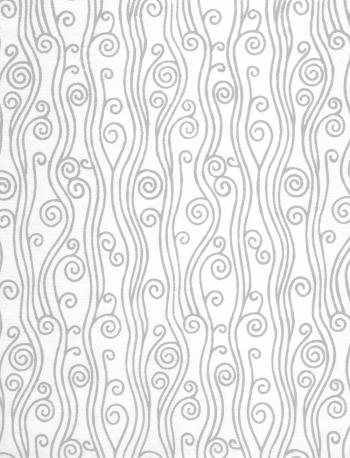 Swirly Pattern On White Paper