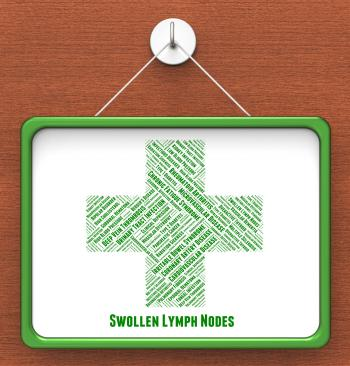 Swollen Lymph Nodes Shows Ill Health And Affliction