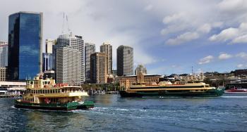Sydney Ferries. Circular Quay.