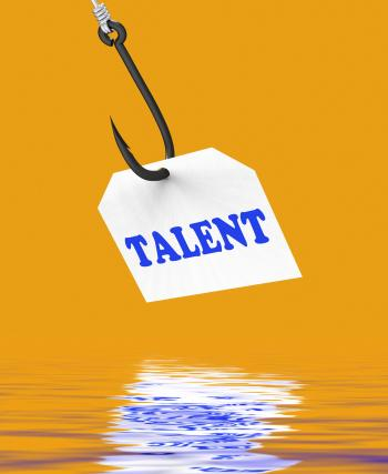Talent On Hook Displays Special Skills And Abilities