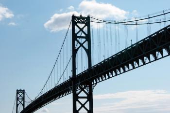 Tall Steel Bridge