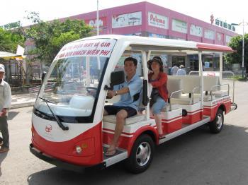 Tax Free super market bus