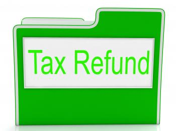 Tax Refund Shows Taxes Paid And Business