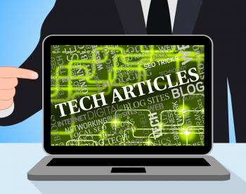Tech Articles Shows News Computer And Digital