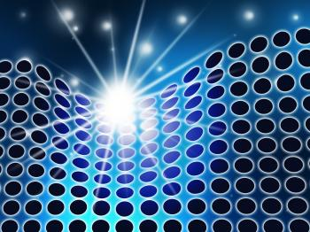 Technology Background Indicates Backdrop Digital And Hi-Tech