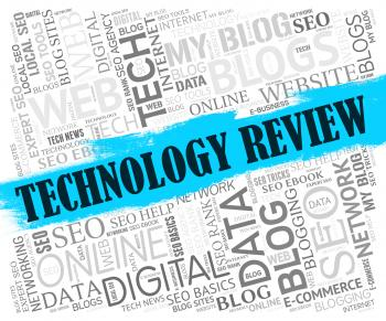Technology Review Shows Assessment Evaluate And Assess