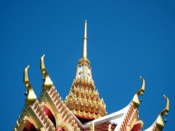 Temple Roof Detail