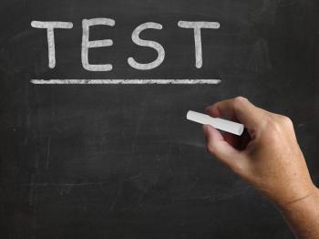 Test Blackboard Shows Assessment Exam And Grade