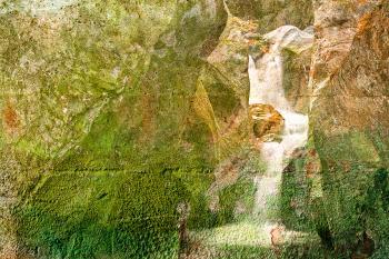 Texas Grunge Wall Falls