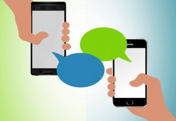 Text messaging concept