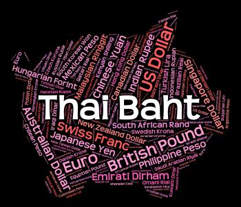 Thai Baht Shows Foreign Exchange And Broker